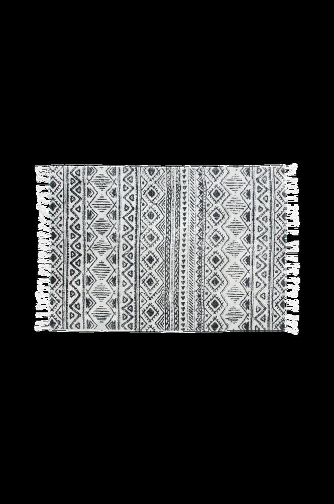 Matta COOS bomull 160×230 svart