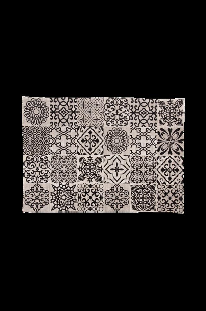 Matta BLUNT bomull 160×230 svart