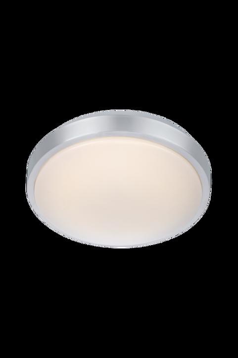 MOON Plafond 28cm LED Alu/Vit