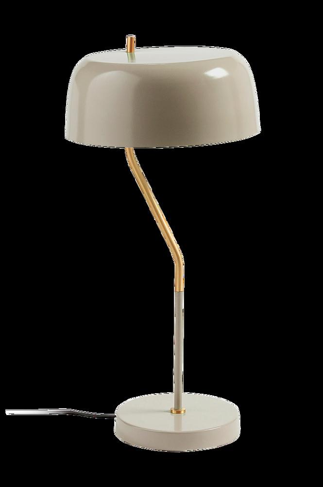 VERSA bordslampa av ljusbeige metall