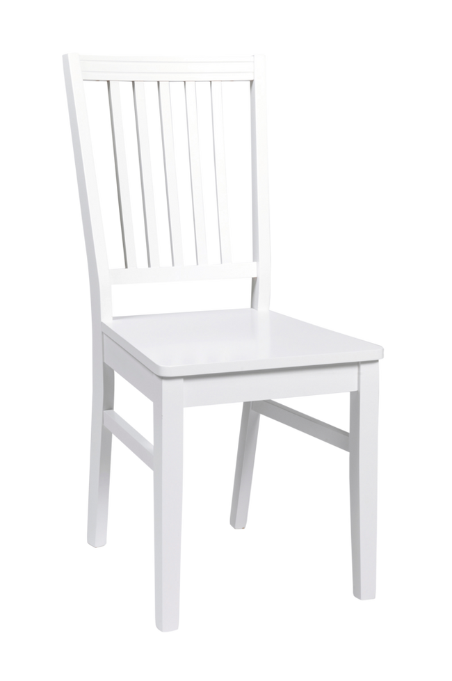 Bilde av Wittskär stol hvit/hvit tresete
