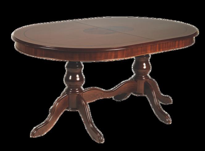 Amadeus matbord ovalt valnötsbrun