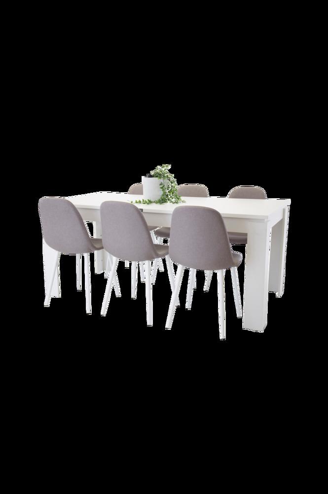 Lindos Matgrupp inkl 6 Polar stolar