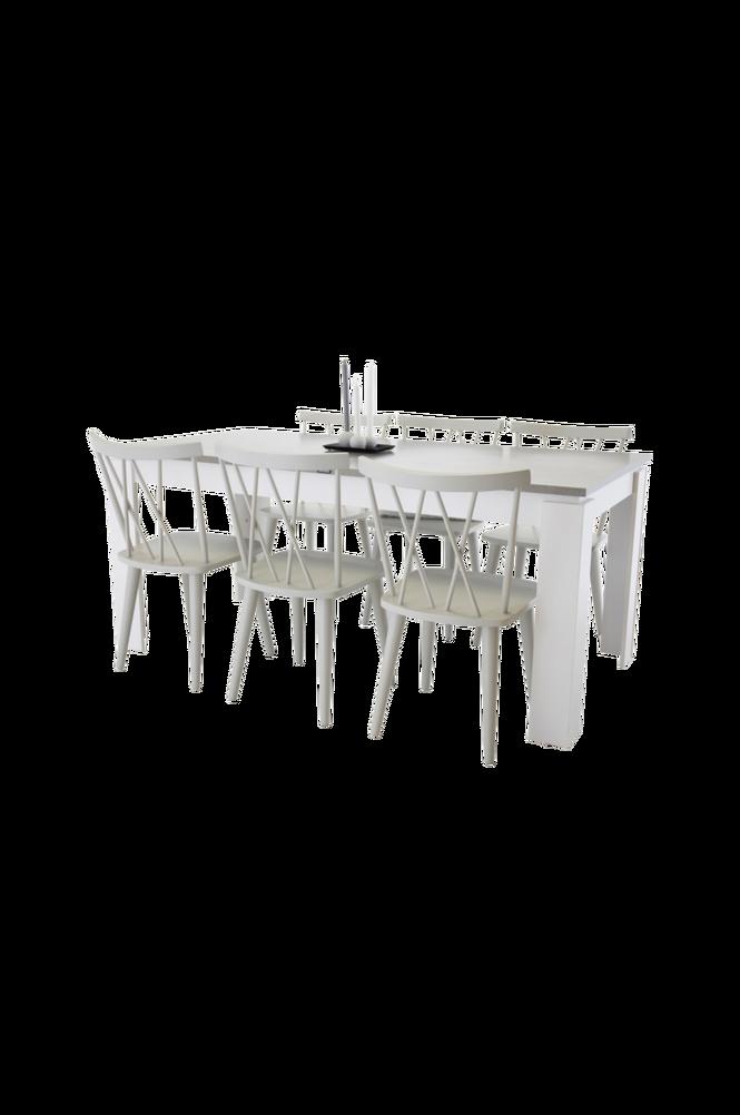 Lindos Matgrupp inkl 6st mariannelund stolar