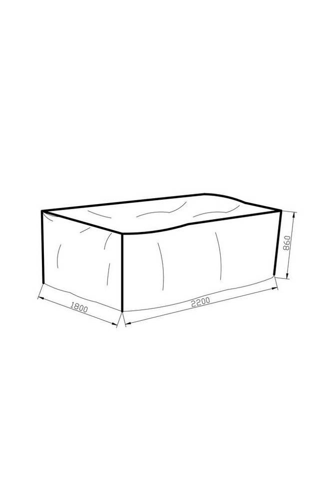 Möbelskydd 180*220*86 grå