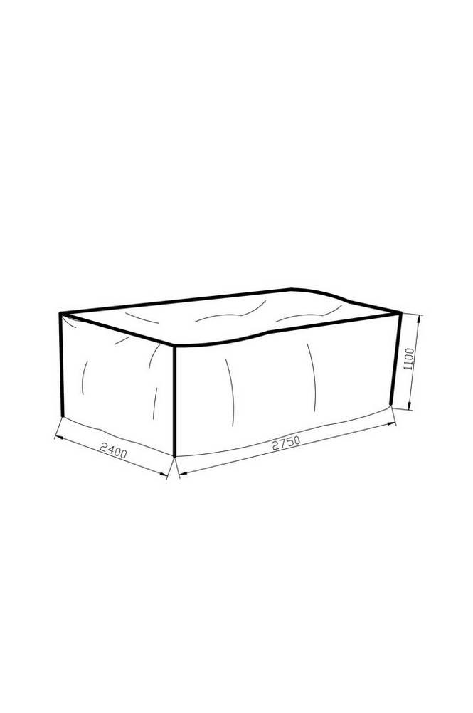 Möbelskydd 240*275*110 grå