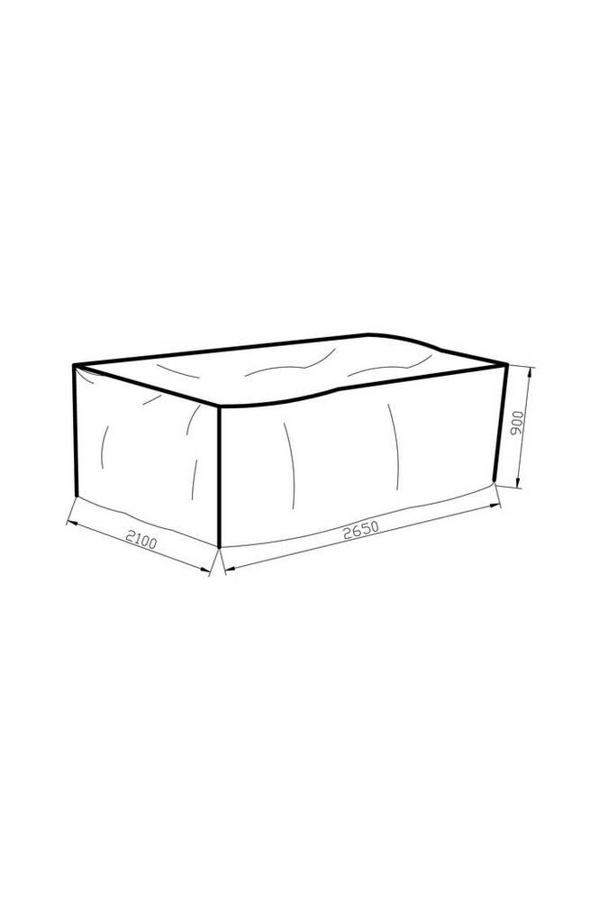Möbelskydd 210*265*90 grå