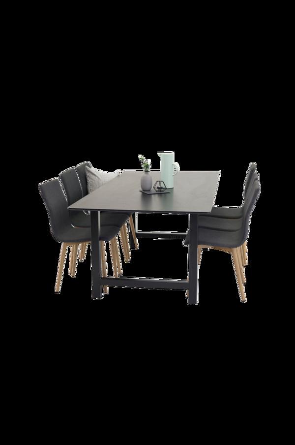 Bilde av Cissi Spisebord + Windu stol (6-pk) - 30151