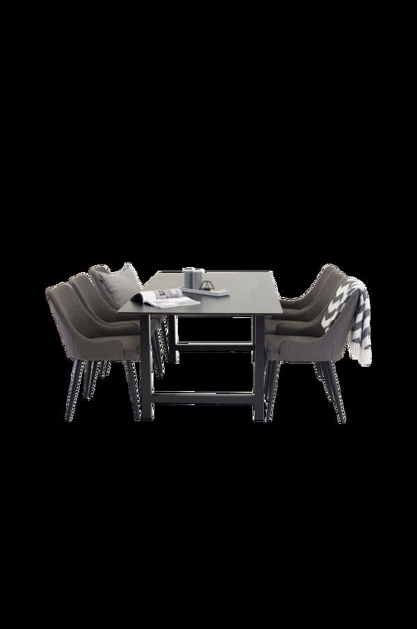 Bilde av Cissi Spisebord + Pia stol/ Legs (6-pk) - 30151