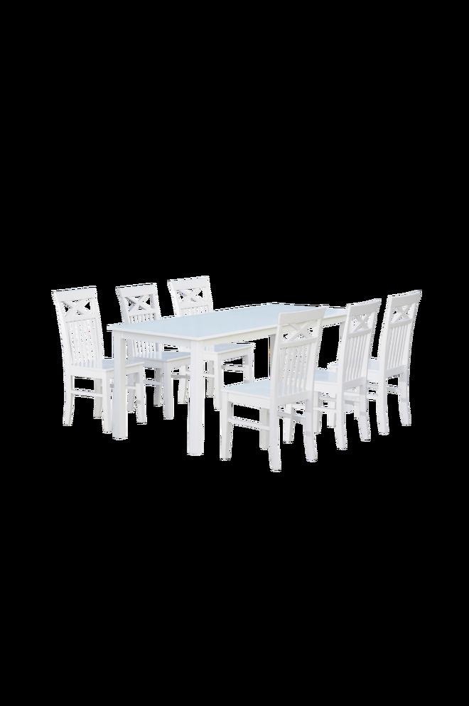 Bilde av Beatrice bord 180 + Beatrice stol (6-pk)
