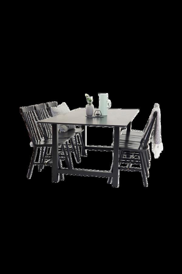Bilde av Cissi Spisebord + Lönneberga stol (6-pk) - 30151
