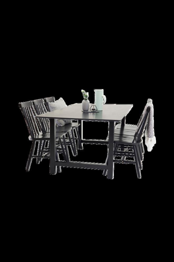 Bilde av Cissi Spisebord + Lönneberga stol (6-pk)