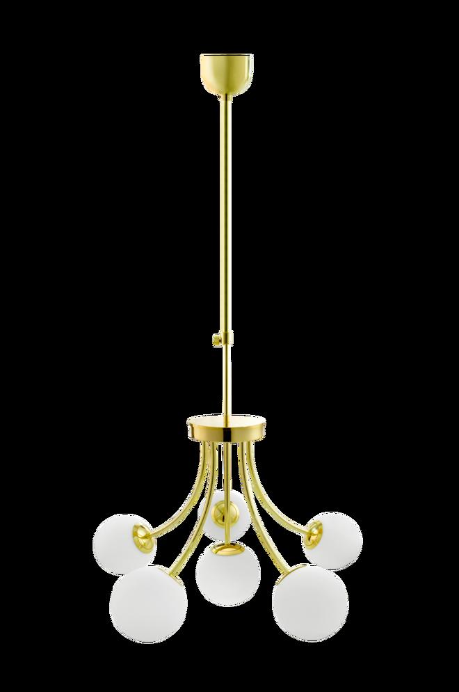 Casanova HvitMessing Taklampe