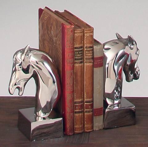 Bokstöd häst