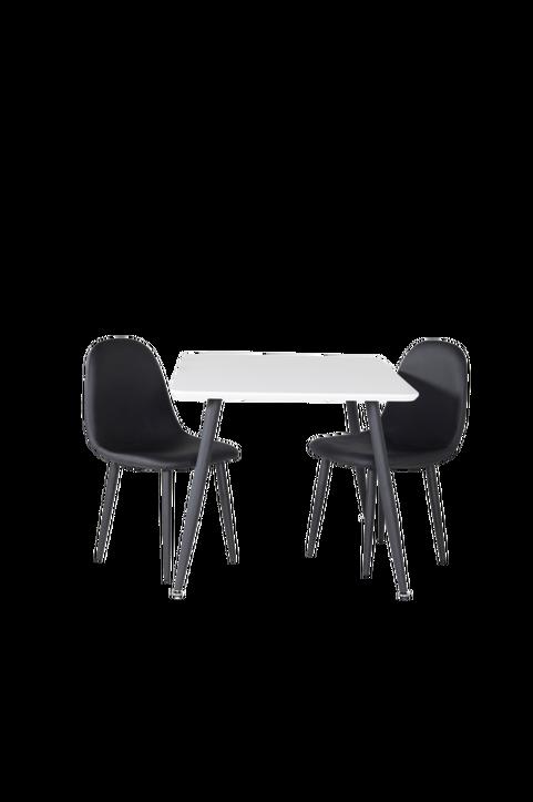 Barnmöbelgrupp Penally matbord och 2st Penally matstolar