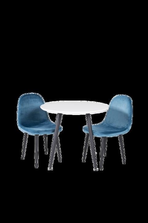 Barnmöbelgrupp Pia matbord och 2st Penally matstolar
