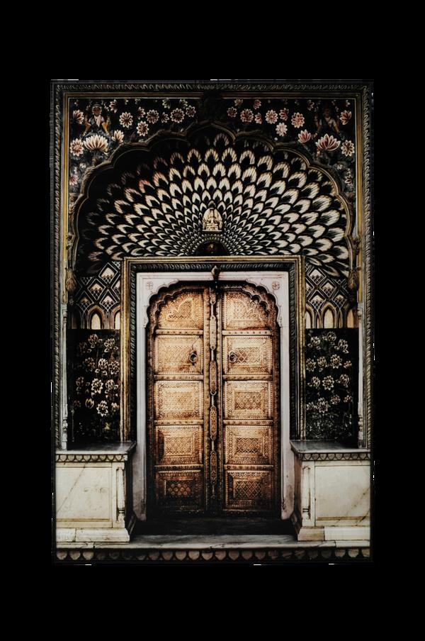 Bilde av Bilde gul dør - 30151