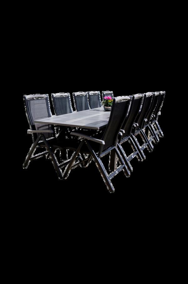 Bilde av Alf spisebord og 10 stk 5-trinns Alf spisestoler - 30151