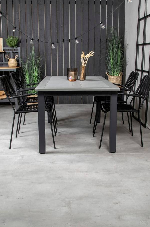 Bilde av Alf spisebord og 4 Levis spisestoler - 30151
