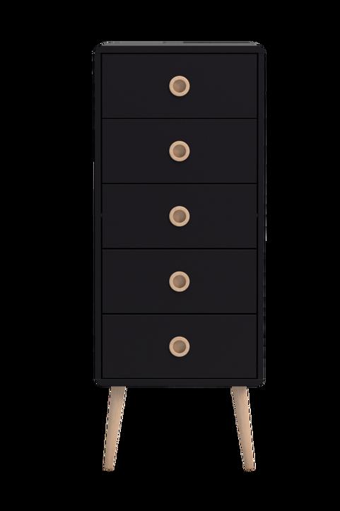 Byrå Softline, 5 lådor