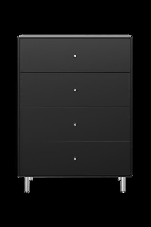 Byrå Maya, 4 breda lådor