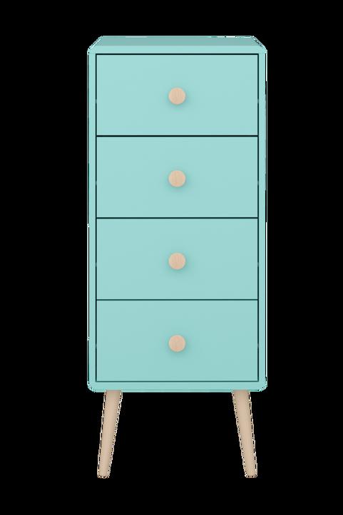 Byrå Gala, 4 lådor