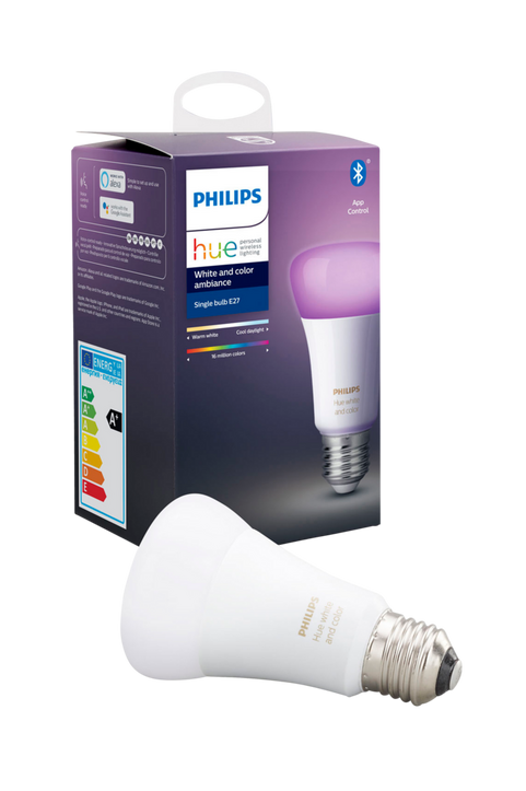 Hue White and Color E27 1-pack
