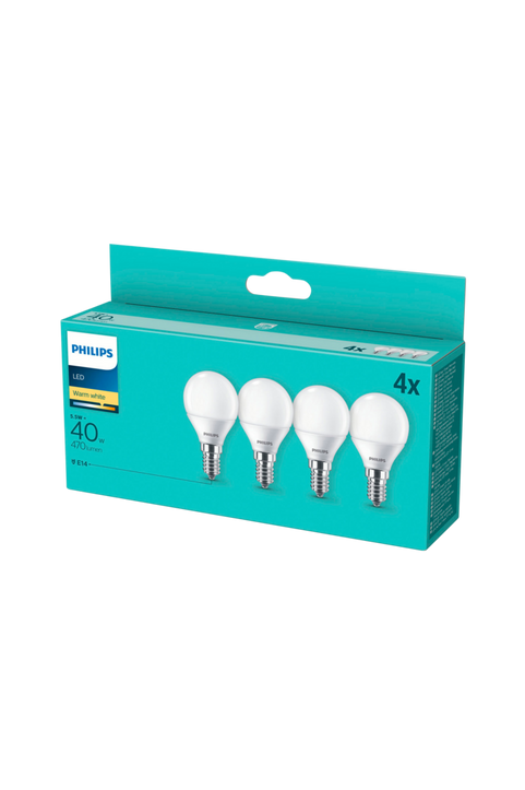 4-pack LED E14 Klot Frost 40W