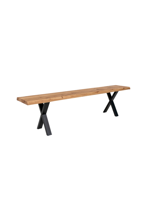 Bänk Mesa, oljad ek, 180x34 cm