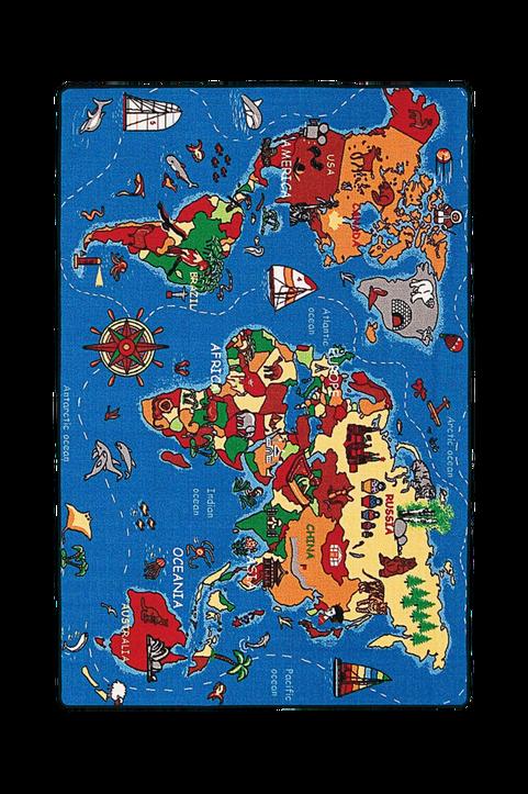 Barnmatta World Map