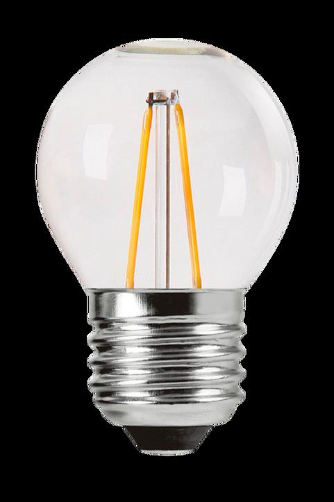 Shine LED Filament Klot Clear E27