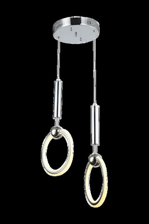 Hängande taklampa Dario, 2 LED