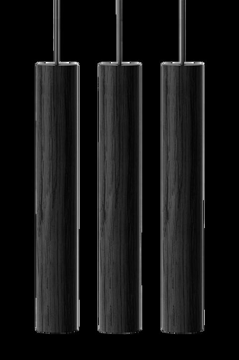 Chimes Cluster 3 - Black Ø 3 x 22cm