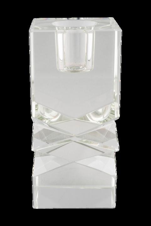 Ljushållare Mira. Ljushållare i transparent glas