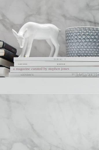 DESIREÉ-koristehahmot, 2 osaa Valkoinen