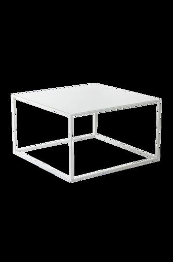 NYLAND-sohvapöytä 70x70 cm - lasia Valkoinen