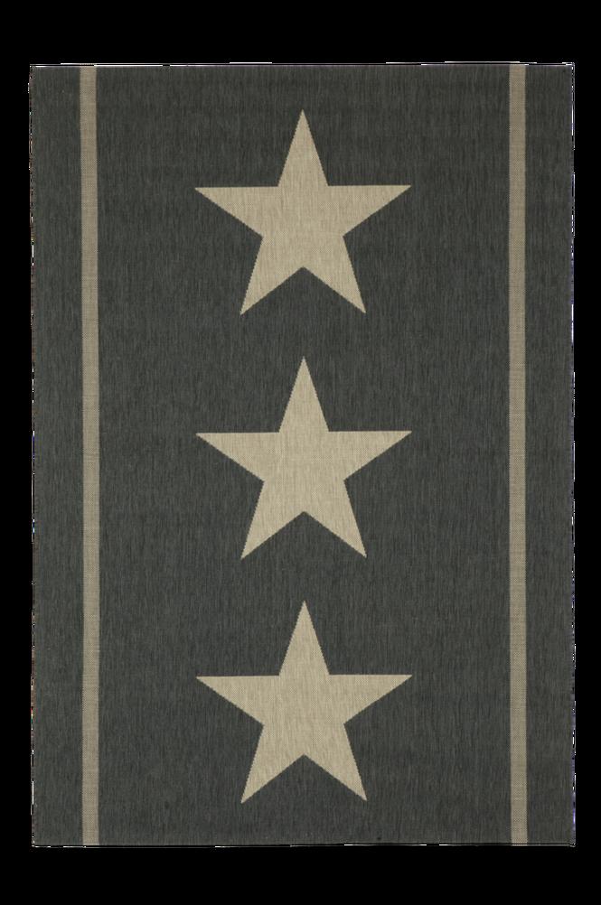 THREE STARS bouclématta 135×190 cm