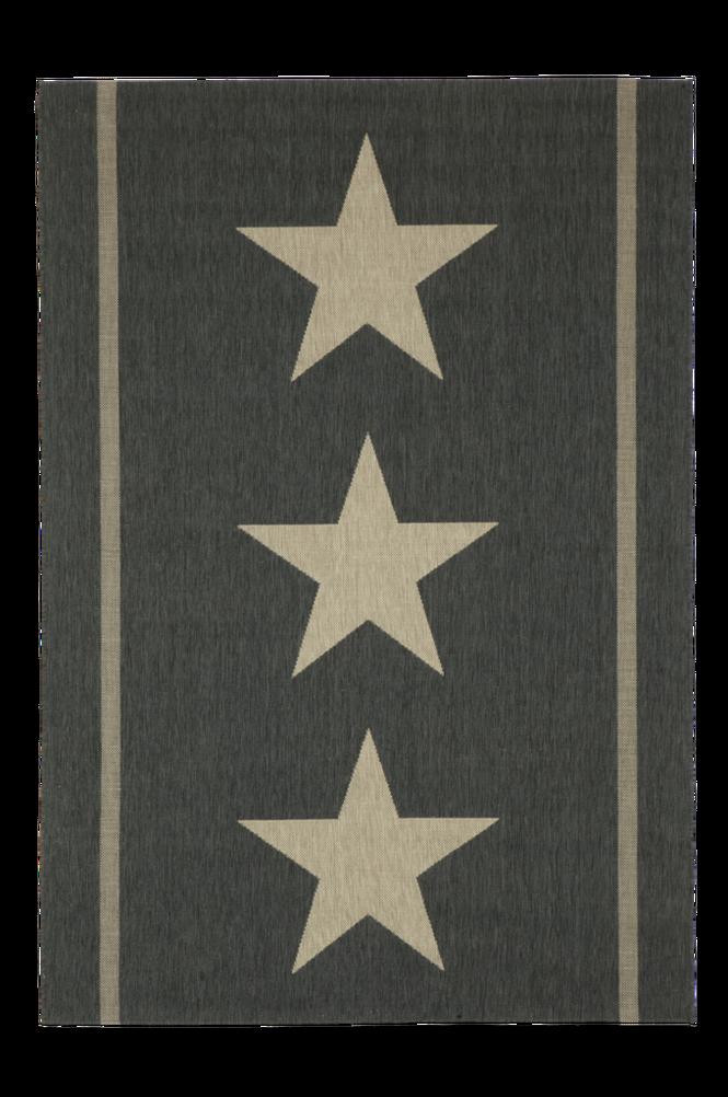 THREE STARS bouclématta 160×230 cm