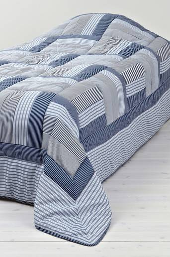 KNUT-päiväpeite kapeaan sänkyyn 150x250 cm Sininen