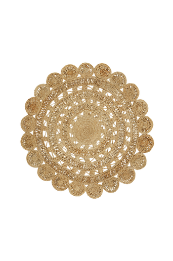 SUSA-juuttimatto Ø 120 cm Beige