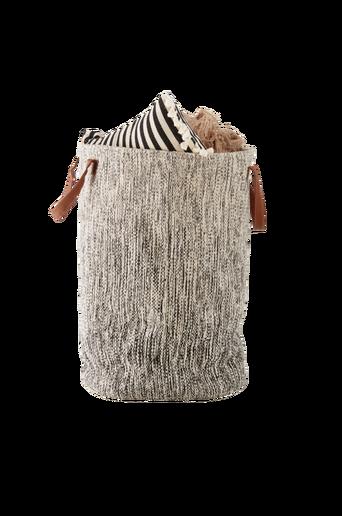 PENNY-pyykkikori Luonnonvalkoinen