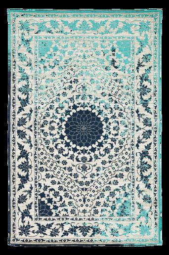 Sileä TUSA-matto 160x230 cm Sininen