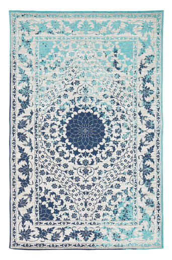 Sileä TUSA-matto 200x300 cm Sininen