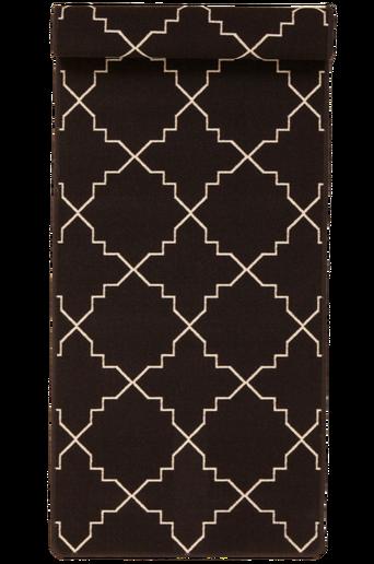 ICON-matto, 67x120 cm Ruskea