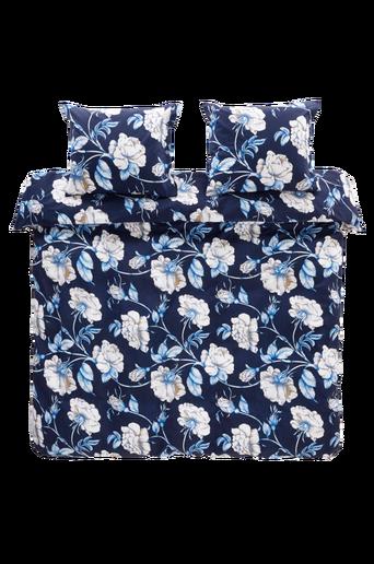 FLORALISA-pussilakanasetti, 3 osaa Sininen