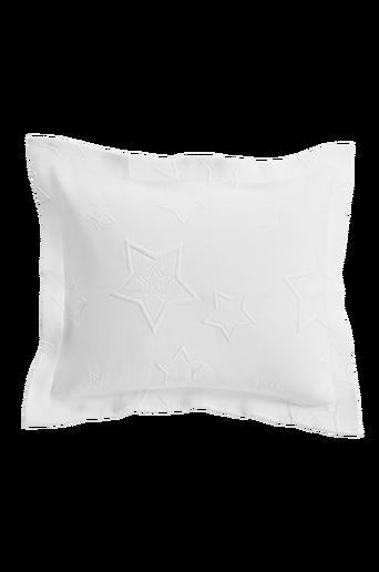 STAR-tyynynpäällinen 60x50 cm + 5 cm:n reunus Luonnonvalkoinen