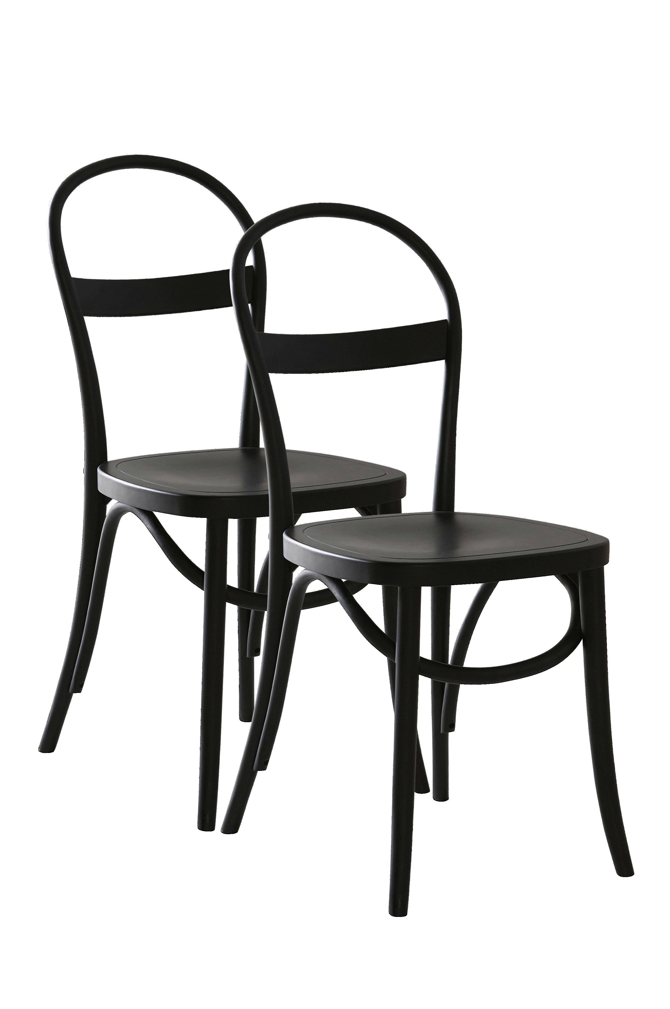 VÄBY stol 2 pack Svart Möbler Jotex