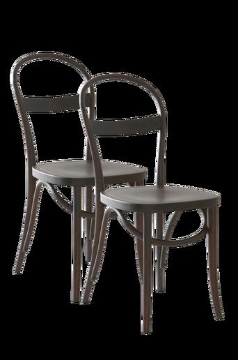 RIPPATS-tuolit, 2/pakk. Ruskeaksi petsattu