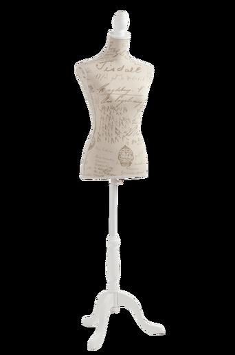 LADY-vaateteline Beige/valkoinen