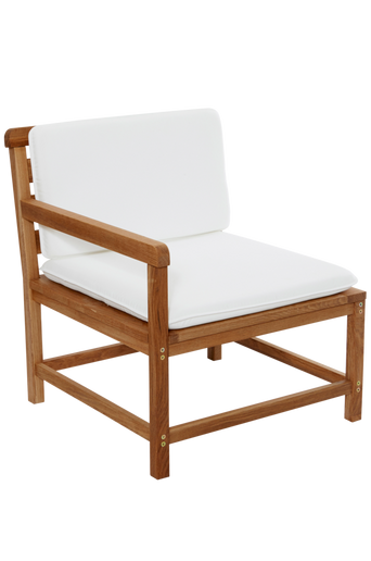 BYTTORP-nojatuoli, jossa pehmuste Tammi/oikea